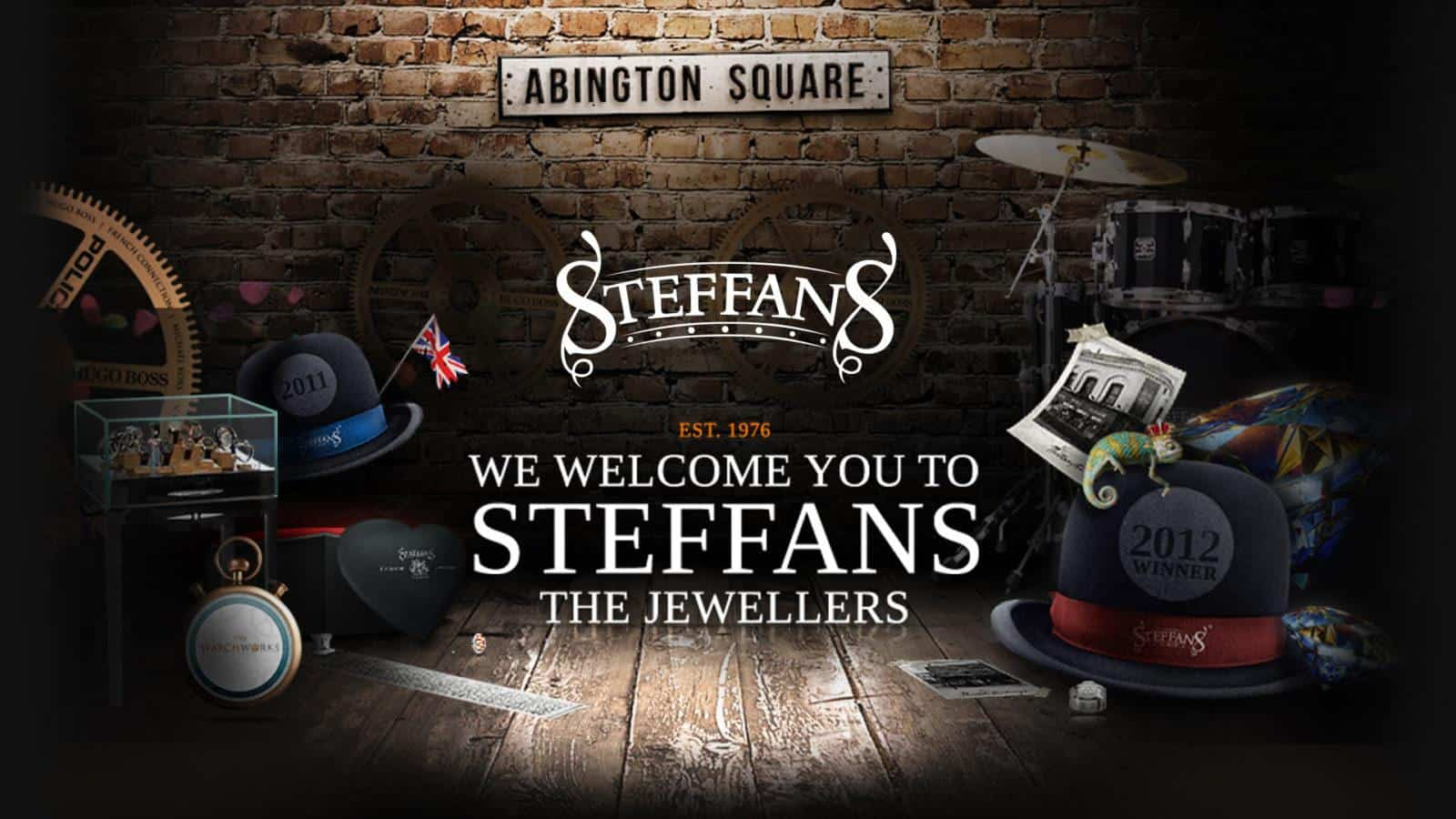 Steffans e-commerce website