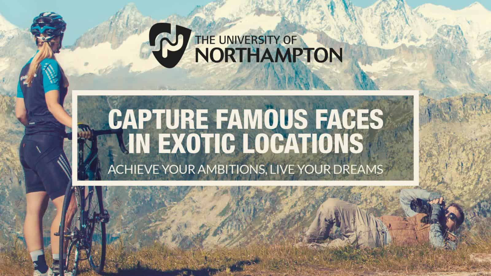 University of Northampton recruitment campaign