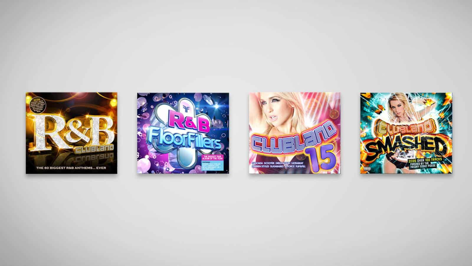 Clubland CD artwork