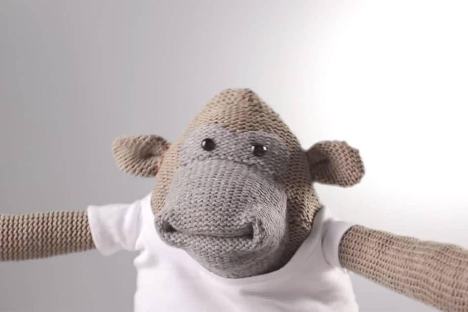 PG Tips Monkey video compression